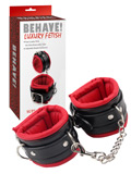 Behave! Luxury Fetish - Super Soft Ankle Cuffs