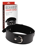 Behave! Luxury Fetish - Midnight Collar