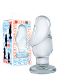Helmet Head Large Clear