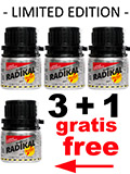 3 + 1 RADIKAL RUSH big alu bottle