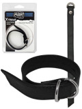 Push Xtreme Leather - Miami Cock & Ball Ring Belt Strap
