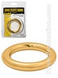 Push Gold Edition - High Polished Power Cockring - 10mm