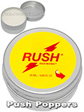 RUSH SOLID POPPERS big
