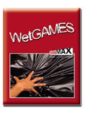 Wet Games Sex-Laken - red 180x220 cm
