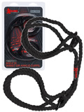 Kink - Hemp Wrist or Ankle Cuffs 6mm - Black